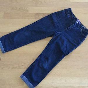 GLORIA VANDERBILT Amanda size 10 crop jeans